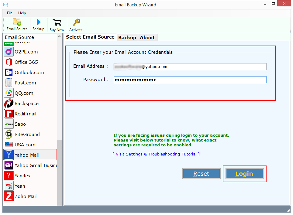 Best Yahoo To Pst Convertor Export Yahoo Emails To Pst By Alexmiller Write App