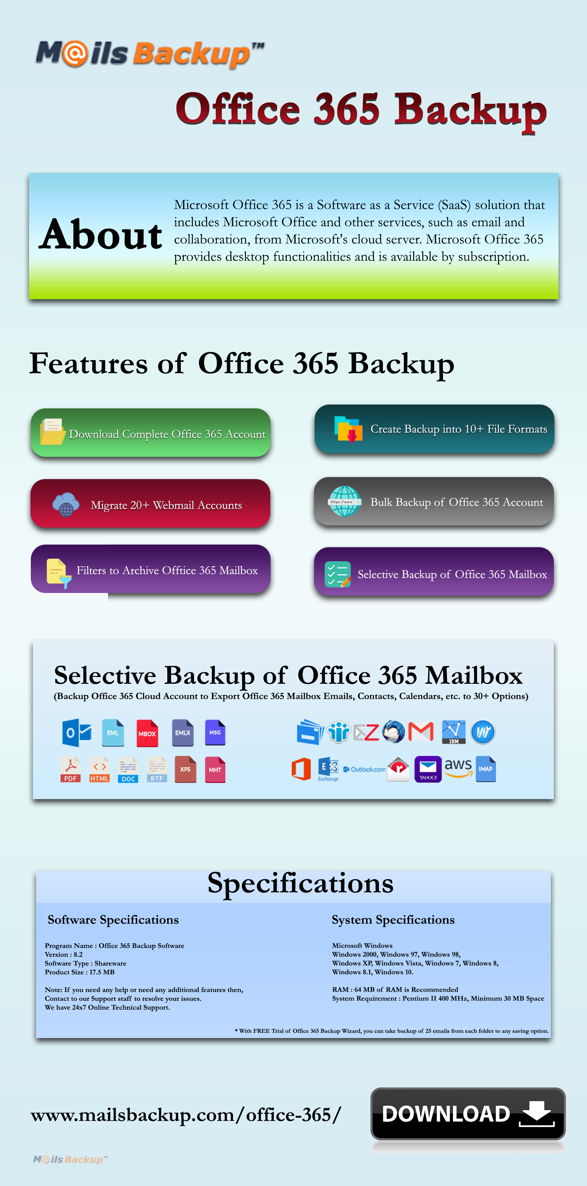 RE: Which is best software to backup Backup Office 365 email ?